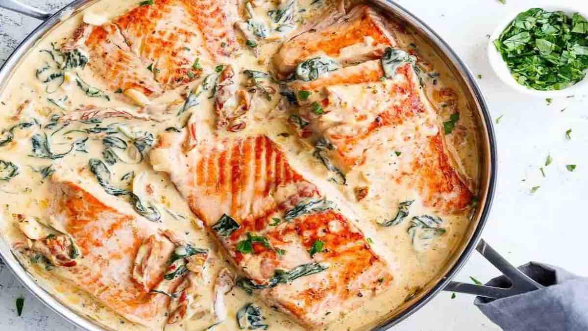 saumon au beurre
