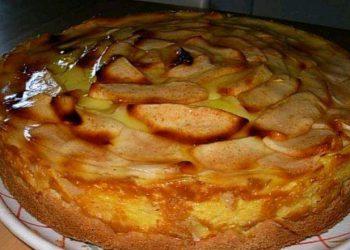 Tarte Flan Aux Pommes à l'ancienne
