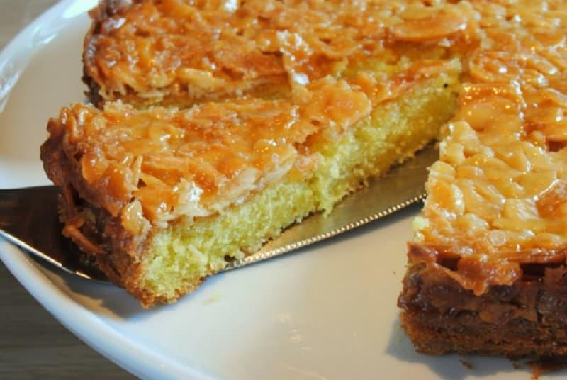 Gâteau Tosca aux amandes caramélisées