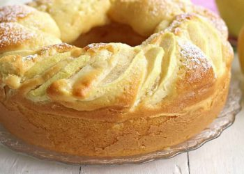 Gâteau aux pommes très moelleux