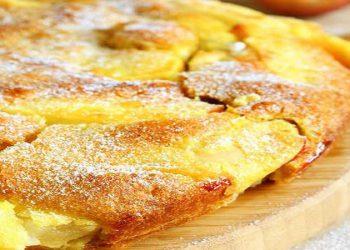 Gâteau aux pommes et à la crème d'orange