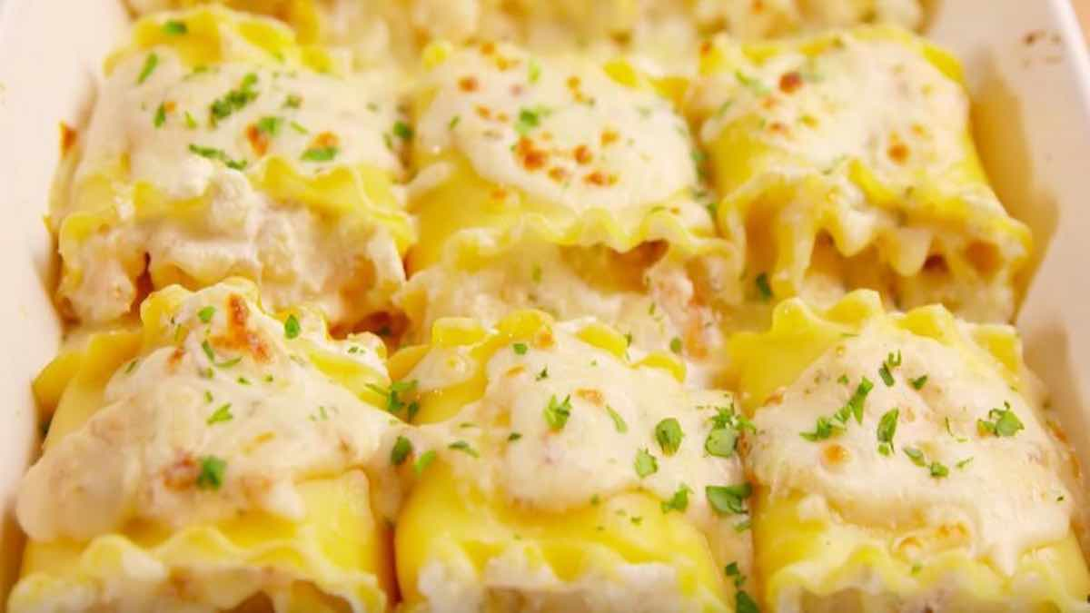lasagne aux fruits de mer