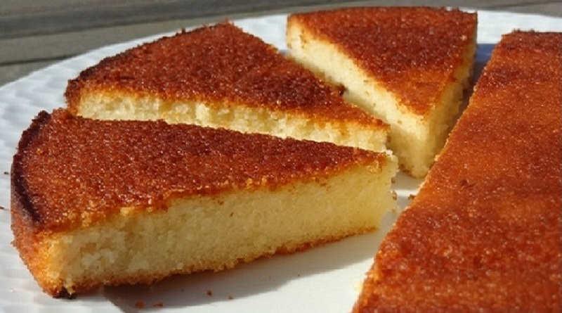 Gâteau aux blancs d'oeufs au Citron