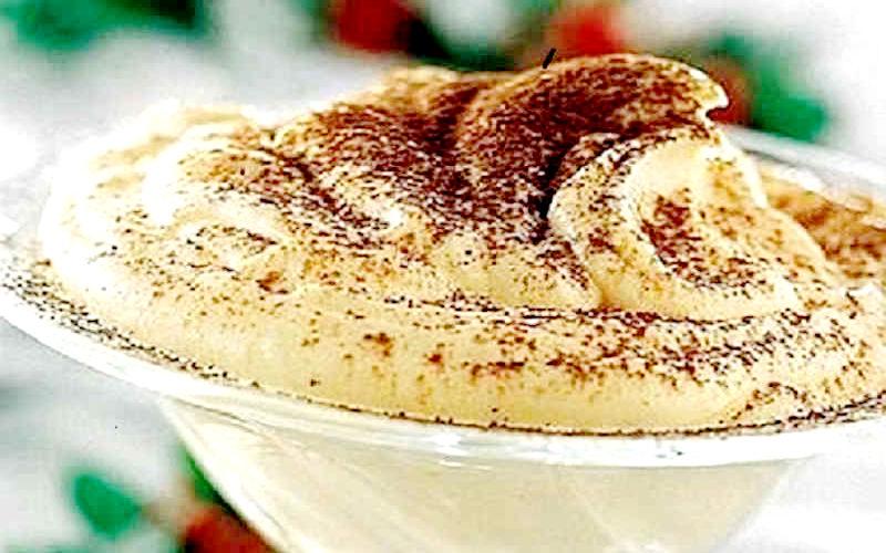 Crème au mascarpone et cacao vite fait