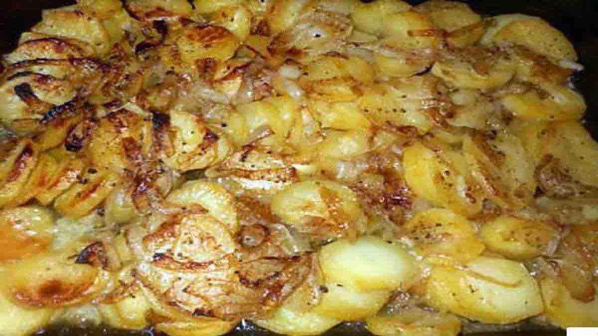 Recette de Pommes de terre boulangère