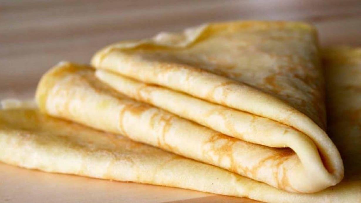 Pâte à crêpe moelleuse
