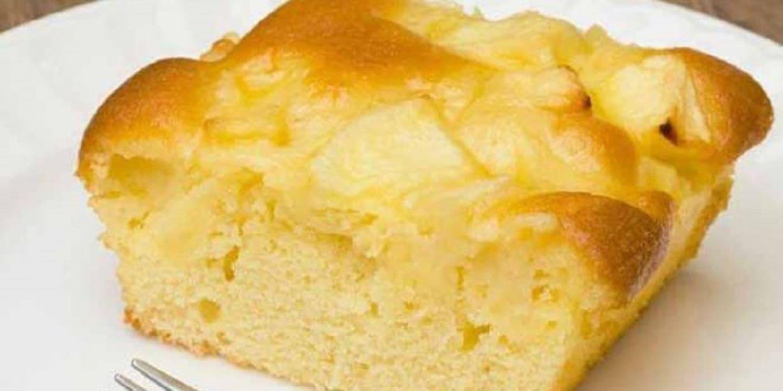 Cake aux pommes parfumé