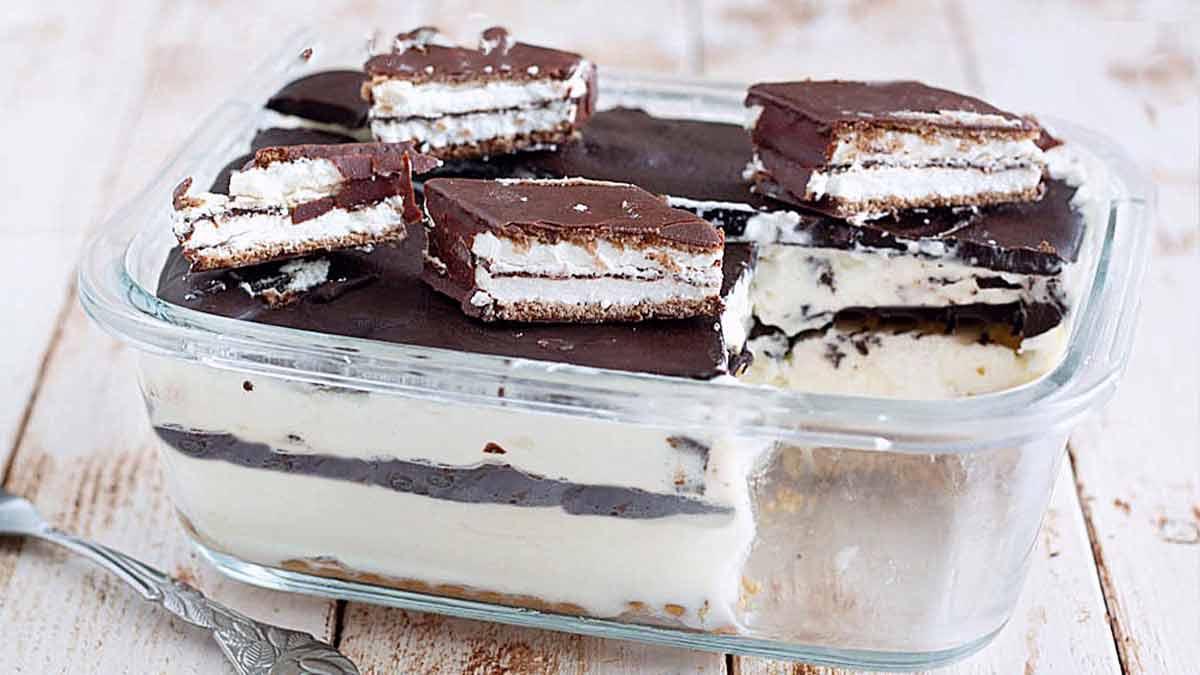 Dessert au chocolat express