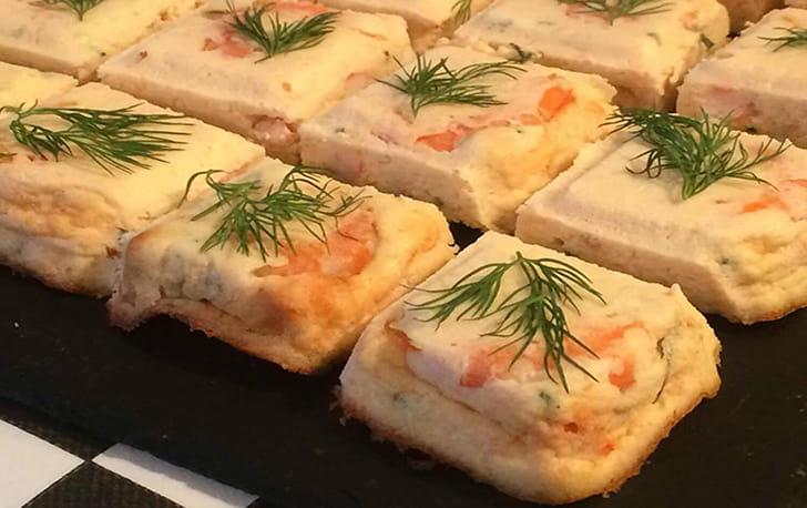 Petite Terrine de saumon aux crevettes