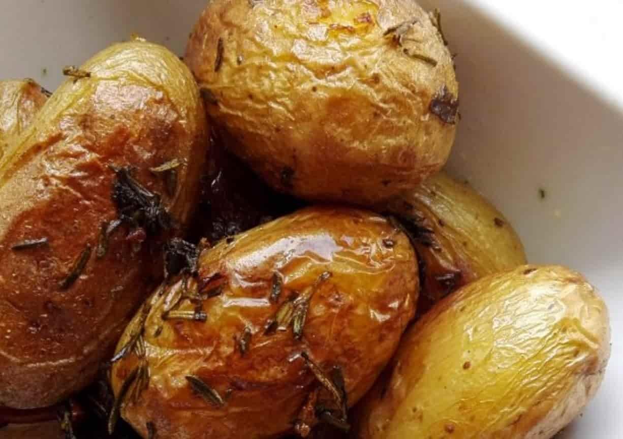 Pommes de terre rôties aux herbes