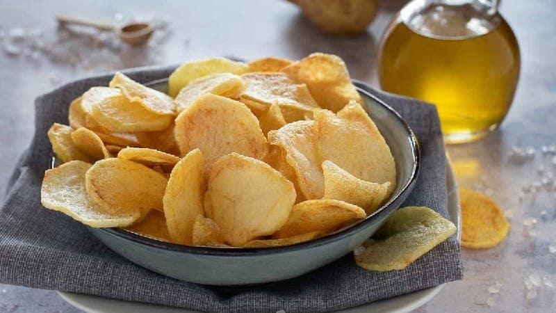 Chips croustillantes maison