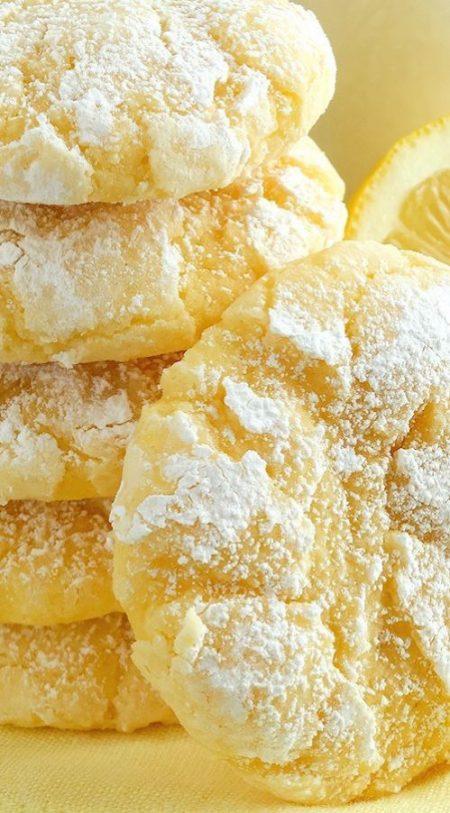 Cookies citron faits maison