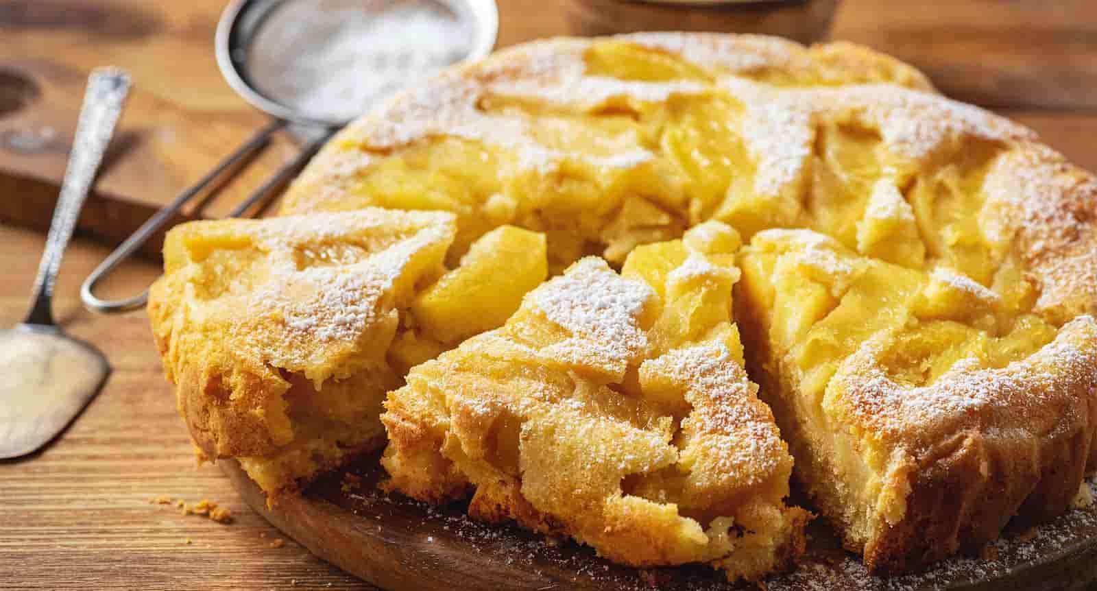 La tarte light aux 6 pommes