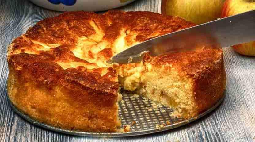 La tarte aux pommes de campagne à base de pain rassis, un dessert savoureux