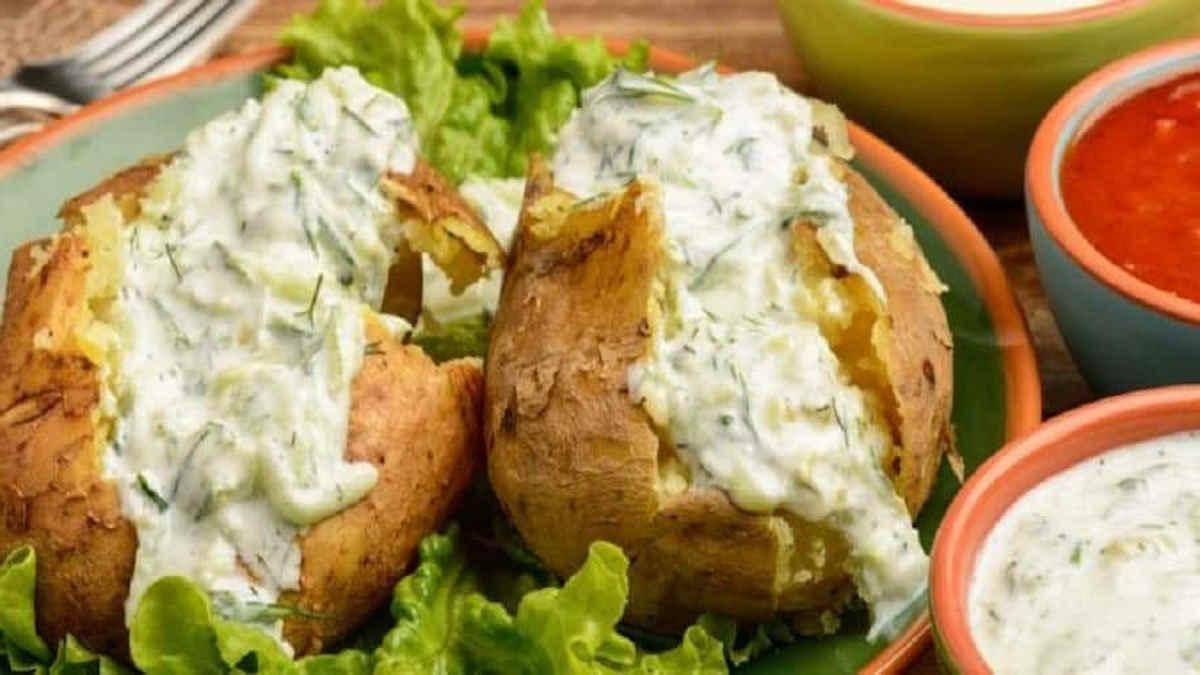 Pommes de terre farcie