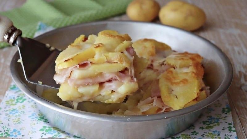 Parmigiana aux pommes de terre
