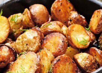 Pommes de terre sautées au cantal