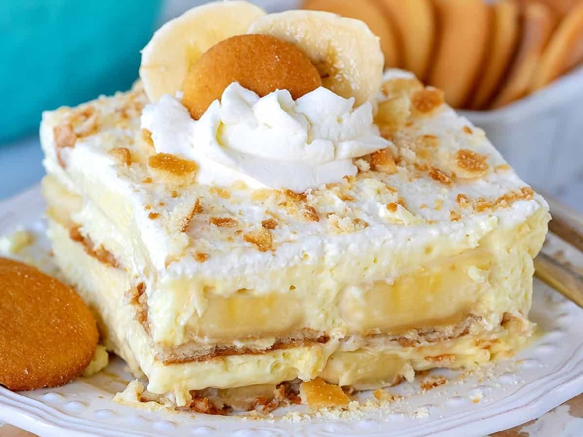 Gâteau fondant aux bananes