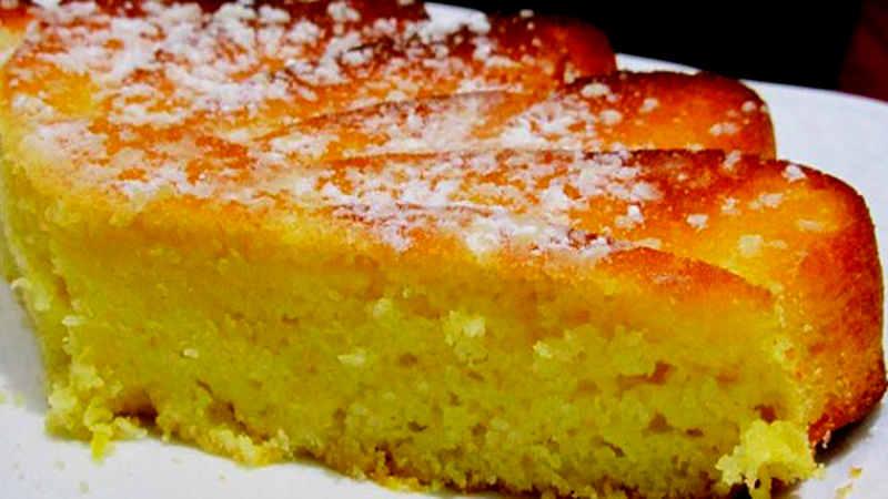 Gâteau fondant au yaourt et au citron