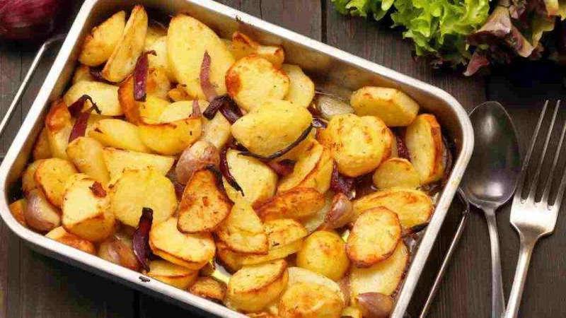 Les pommes de terre au four