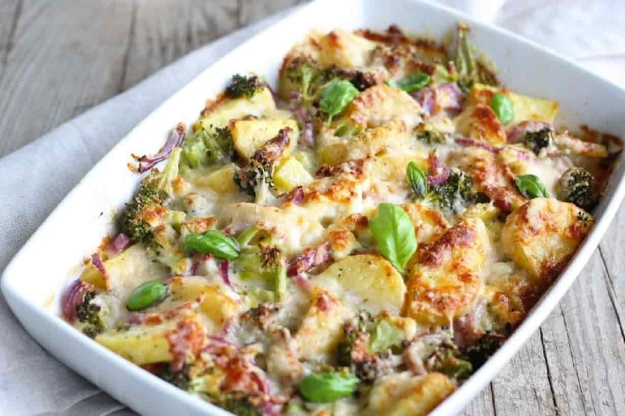 Gratin de Brocoli et Pommes de terre