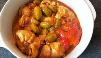 Paupiettes de veau aux olives, à la tomate au Cookéo