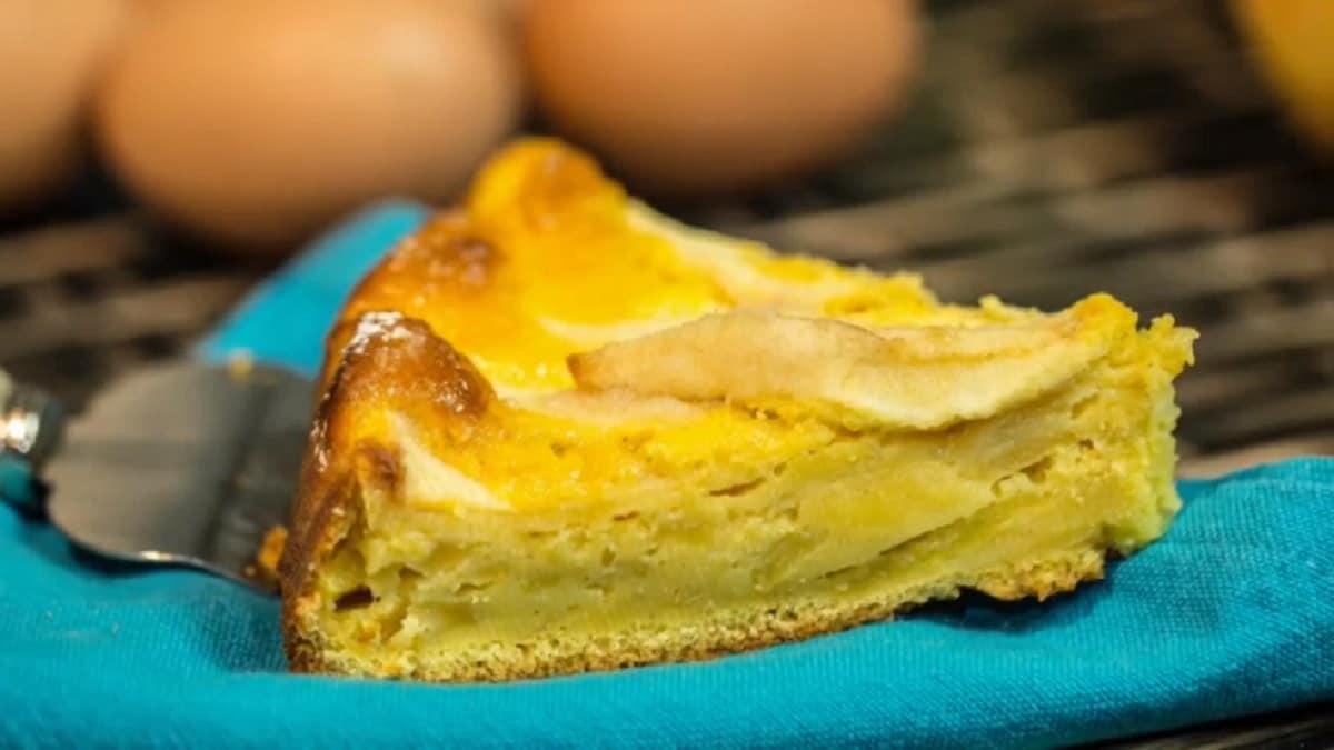 Gâteau aux pommes léger et sans gras