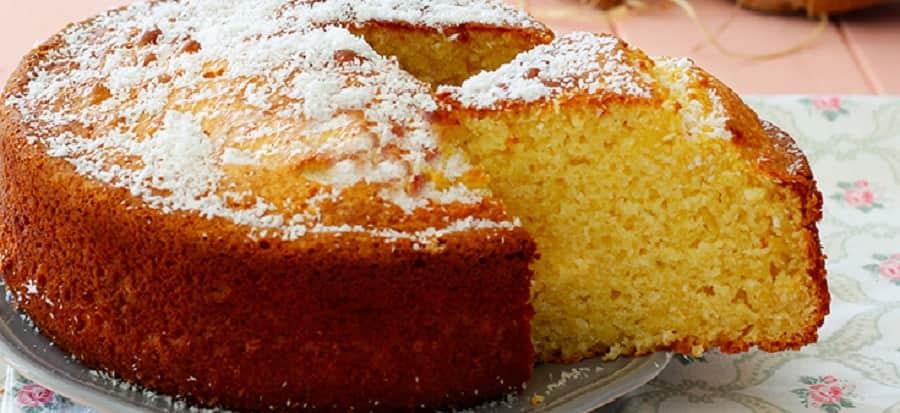 Gâteau coco simple