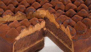 Gâteau au chocolat: Les dunes chocolatées