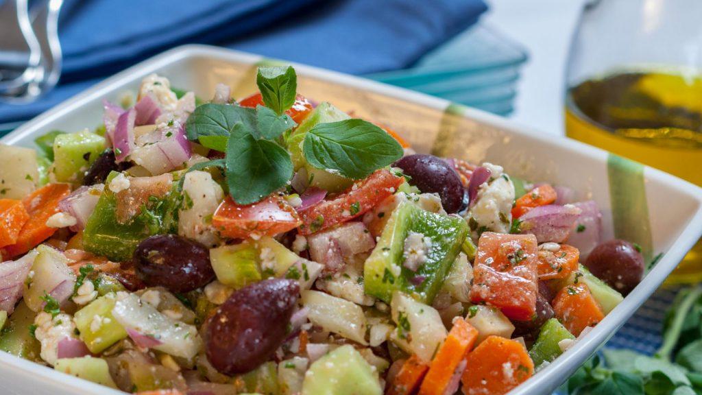 Salade grecque - Horiatiki Salata
