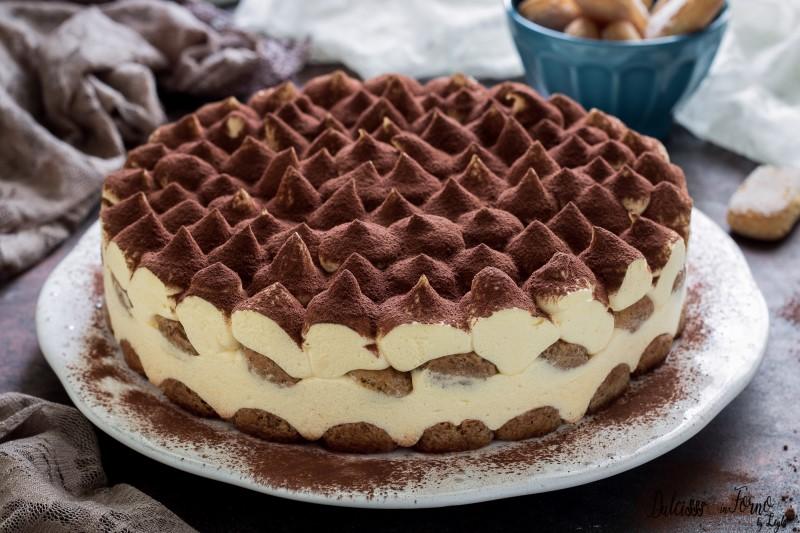 Gâteau tiramisu