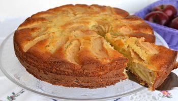 Gâteau aux pommes et mascarpone Moelleux et gourmand.