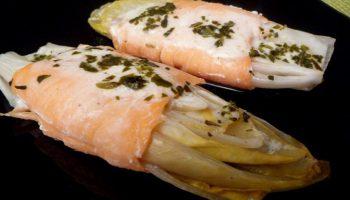 Endives au saumon fumé