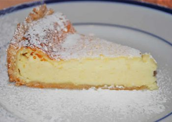Gâteau au fromage blanc d'Alsace