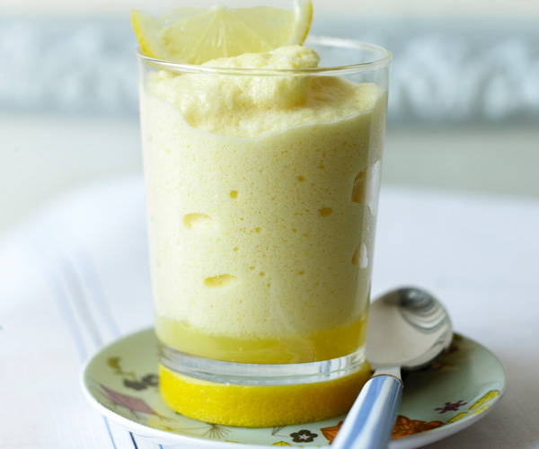 Mousse à la pulpe de citron