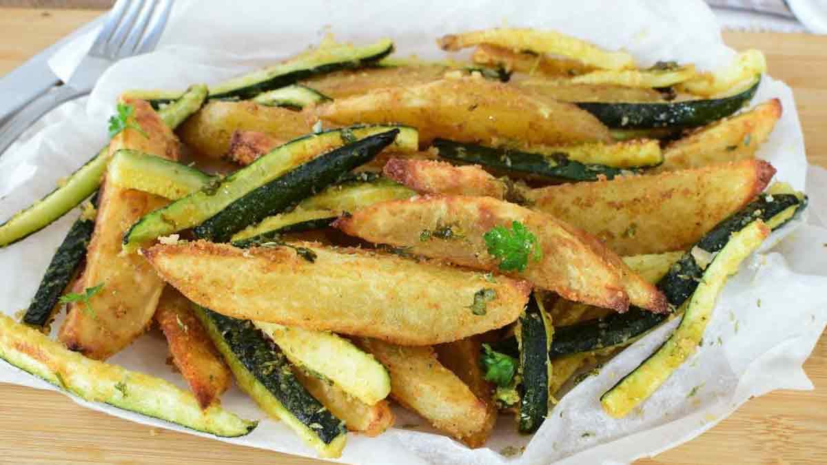 Croustillant de Courgettes et pommes de terre.