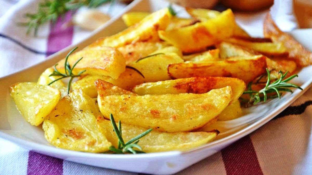 Pommes de terre au four ultra