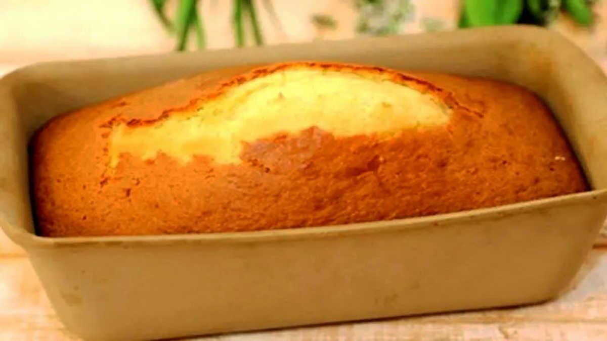Gâteau fondant au citron à la crème fraîche