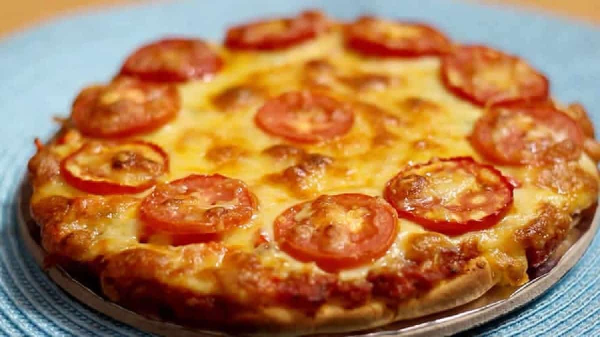 Quiche légère au thon et tomate