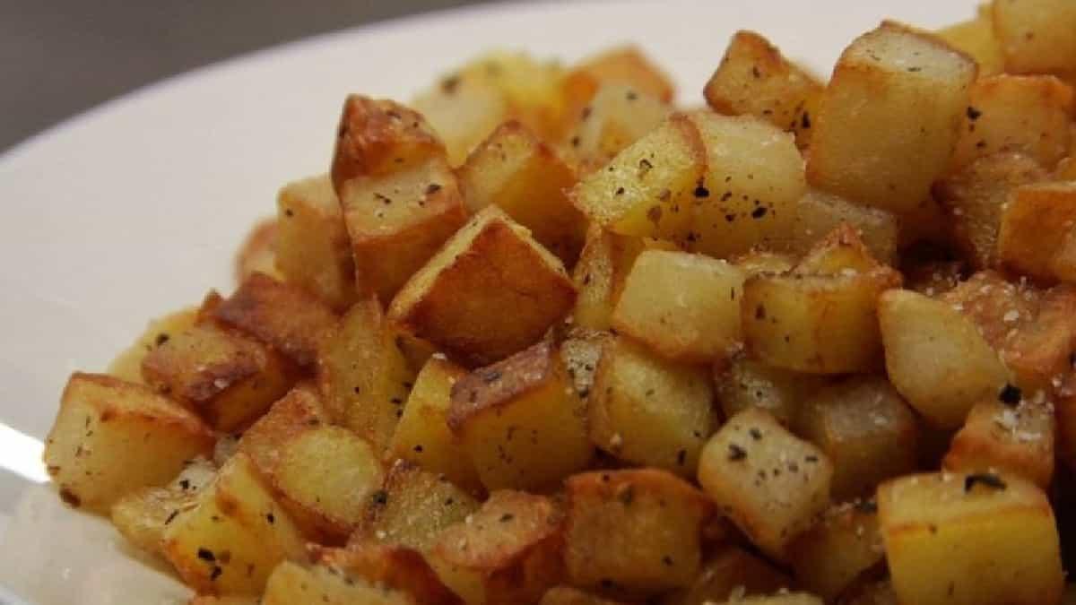 Pommes de terre à l'ail au citron et à l'origan,