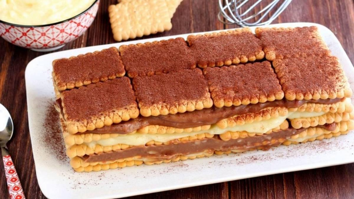 Gâteau aux biscuits de grand-mère