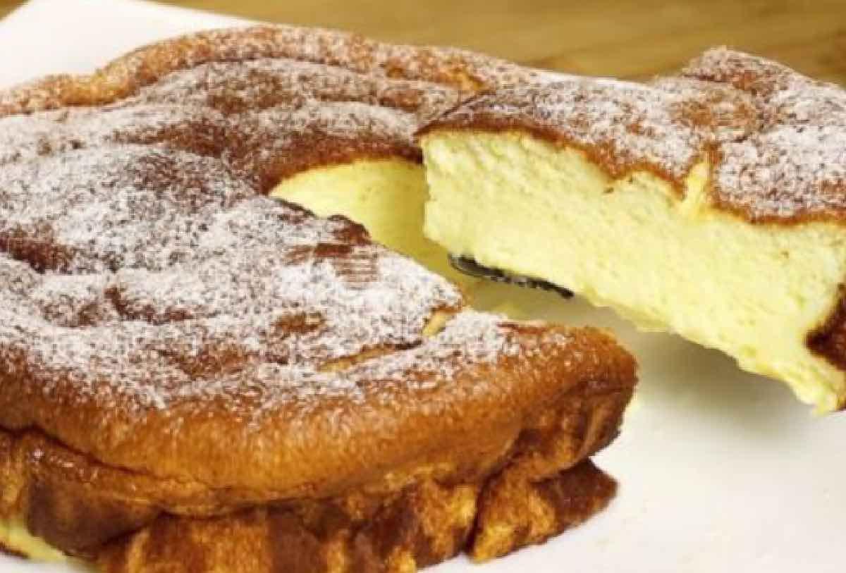 Gâteau crémeux sans beurre et sans farine