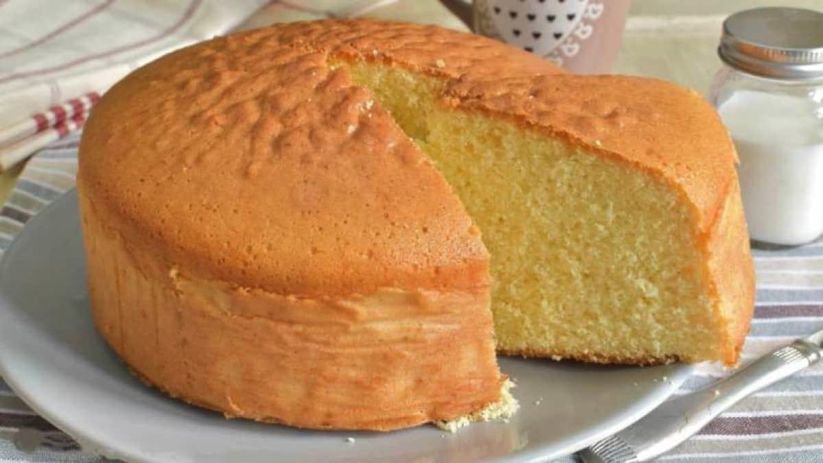 Gâteau au lait hyper moelleux.