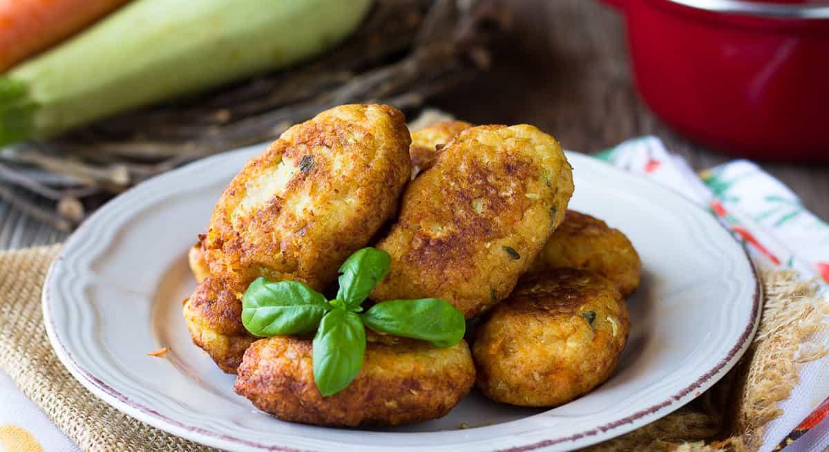 Boulettes de poulet aux courgettes et curry