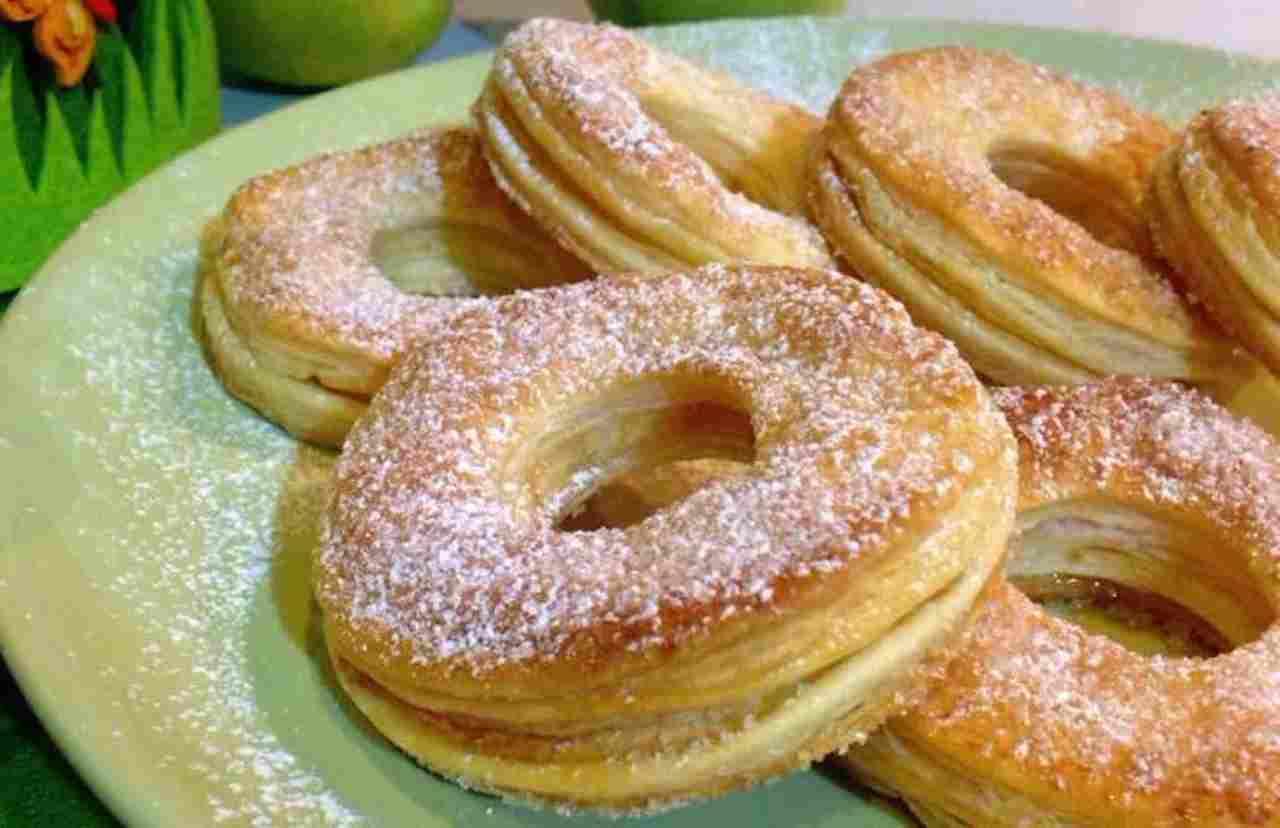 Donuts aux pommes