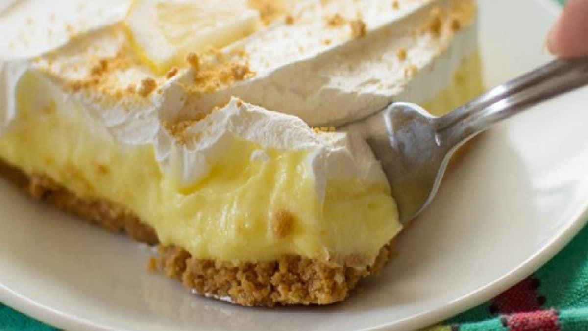Gâteau au fromage au citron sans cuisson