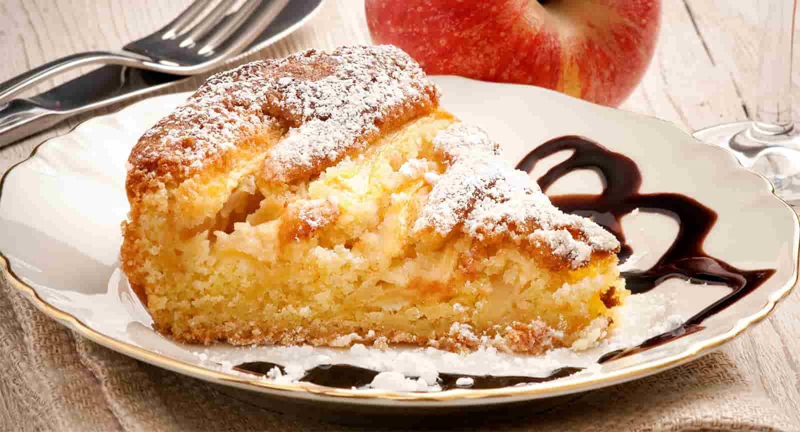 Tarte aux pommes et au yaourt