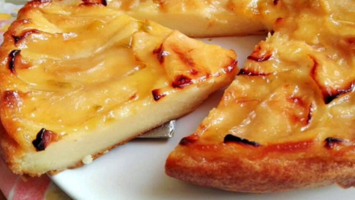 Tarte aux pommes riche en vanille