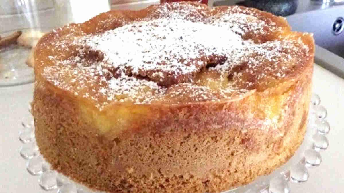 Gâteau aux pommes Coulant